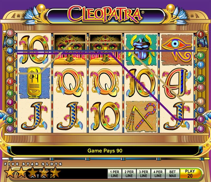 Cleopatra ii online slot game