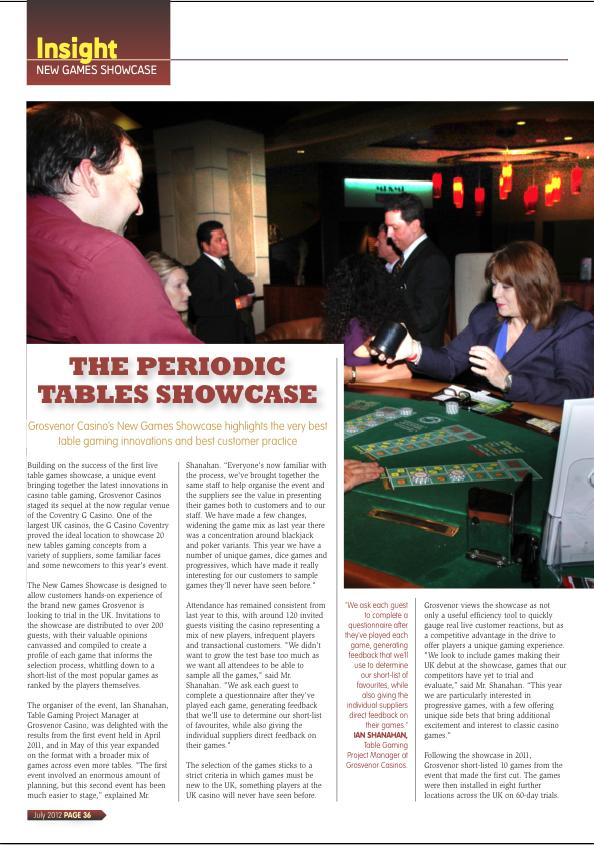 The Periodic Tables Showcase - G3 Newswire