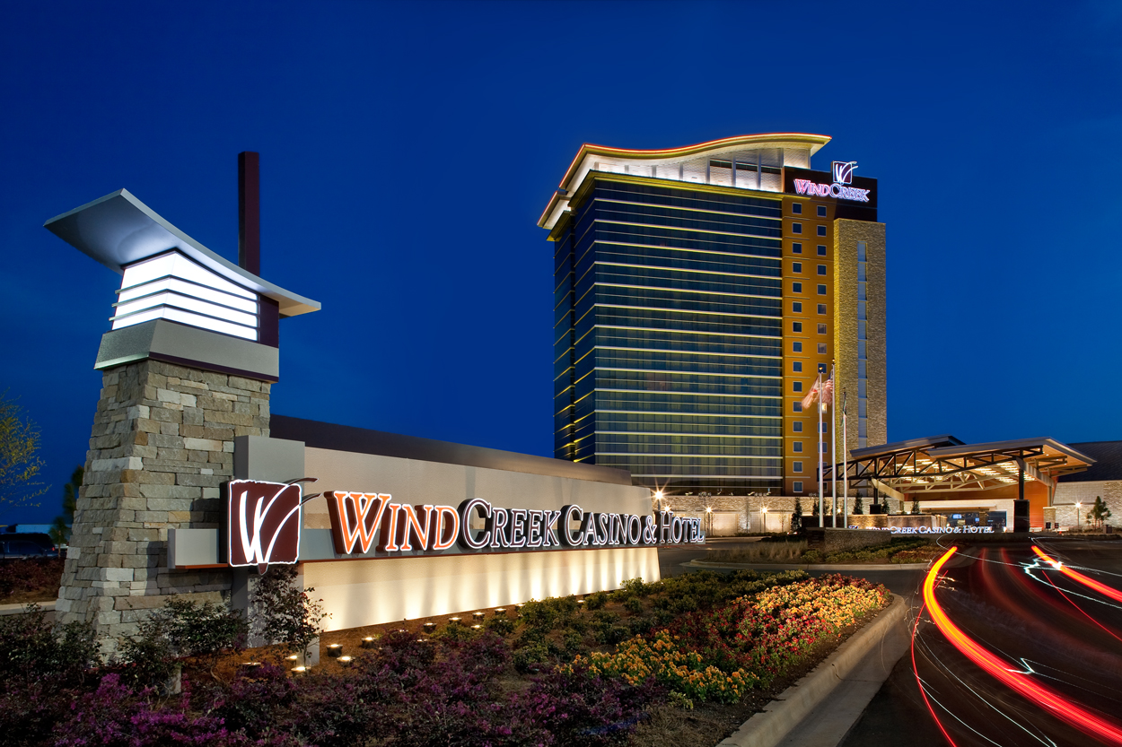 Casino  Alabama  Electronic Gaming  Wind Creek Montgomery