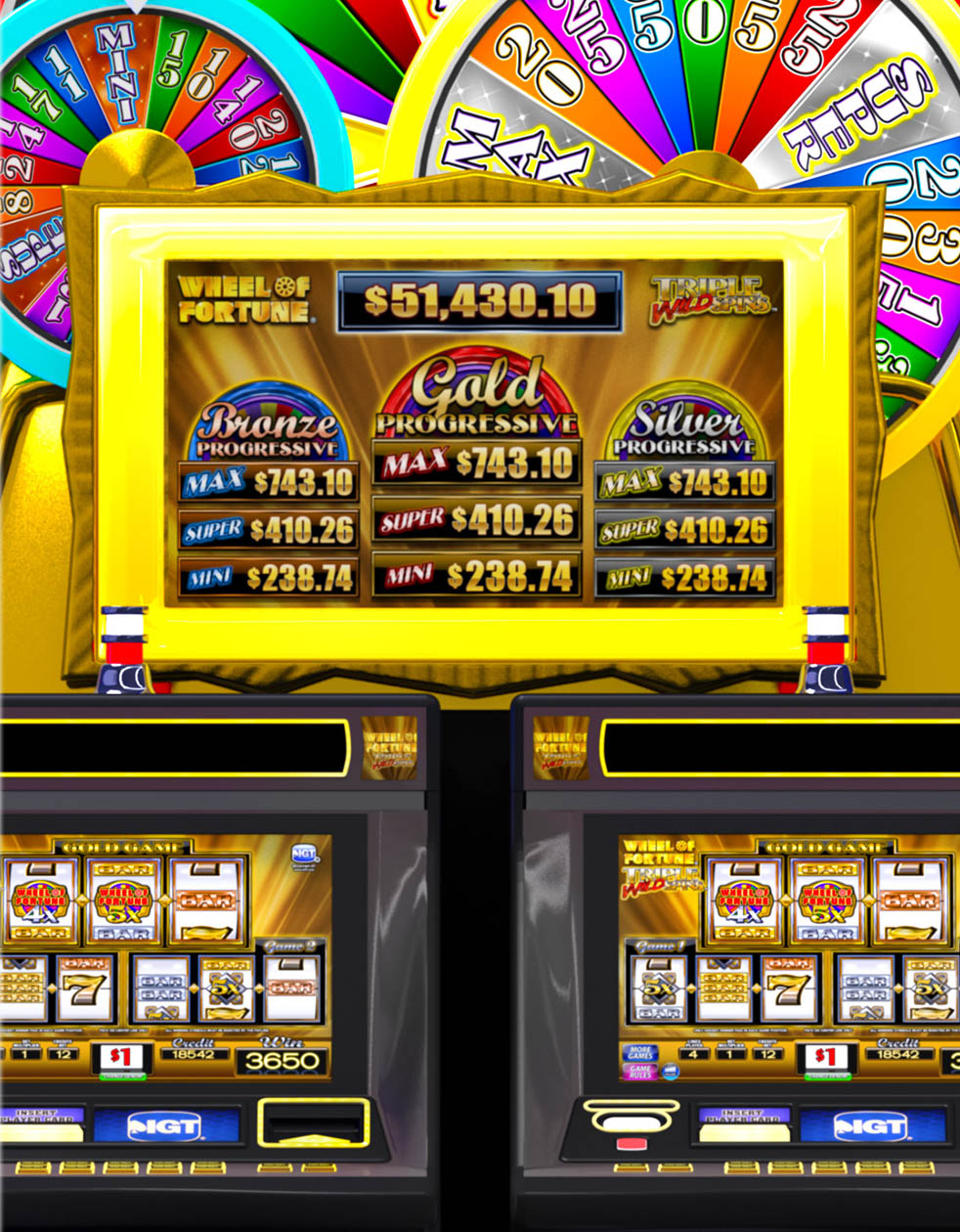 Wheel of Fortune Triple Extreme Mobile Free Slot Game - IOS / Android Version