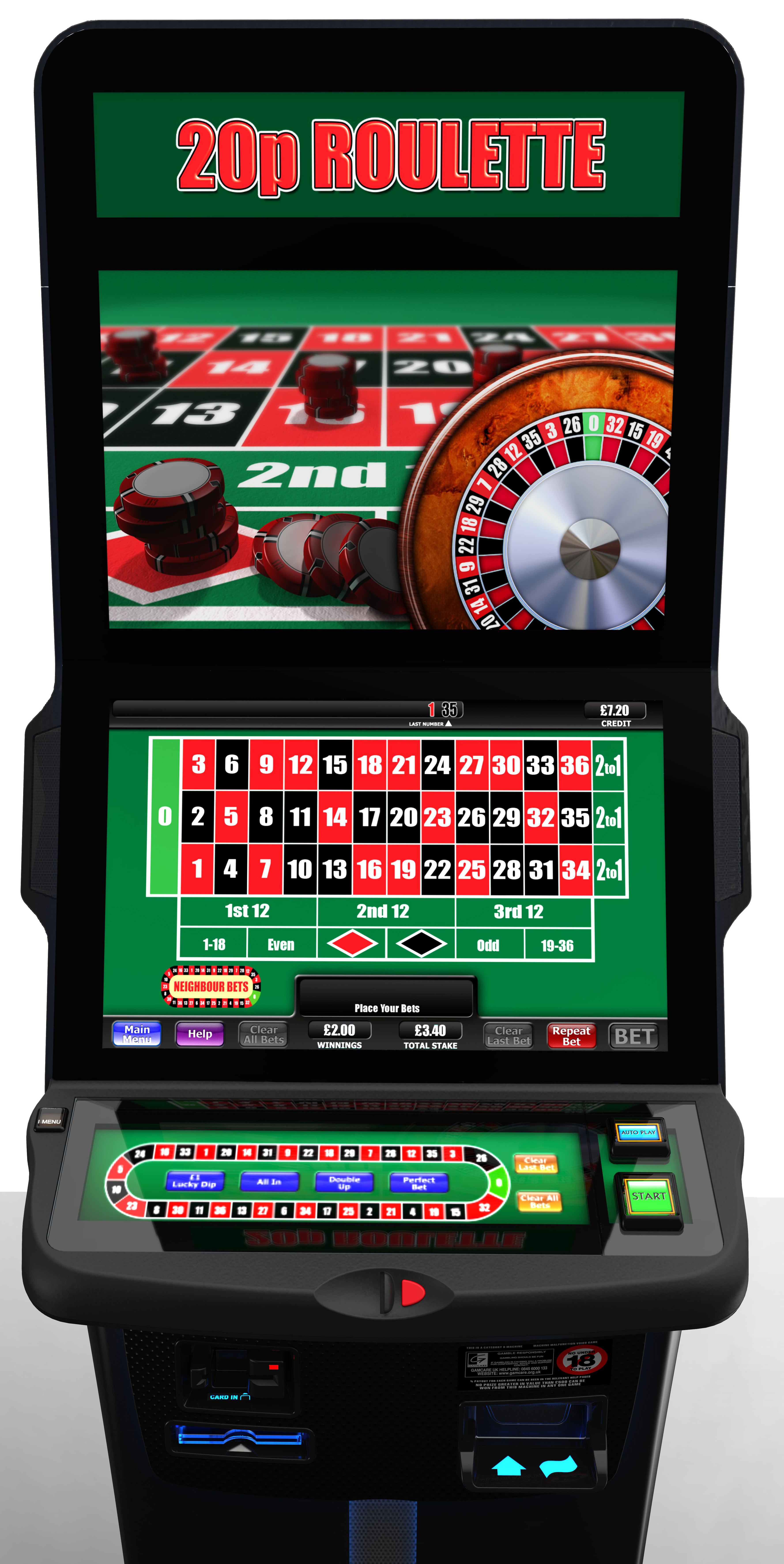 Slot machine winning lines