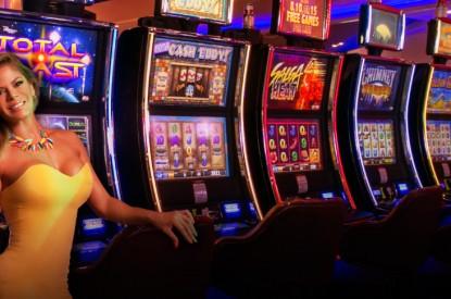 Web based slot machine