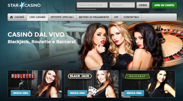 Miglior casino on line italiano