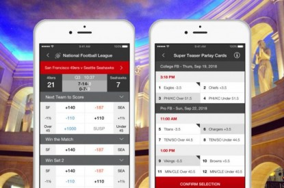 Caesars sports betting app ballys offshore betting pay2card